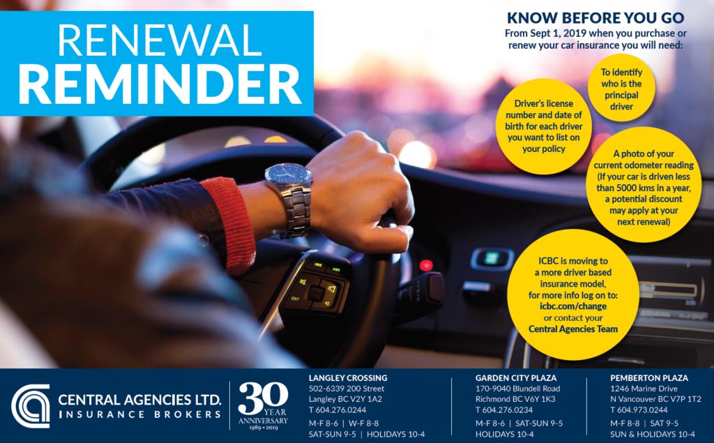 Autoplan Insurance - Central Agencies Ltd.